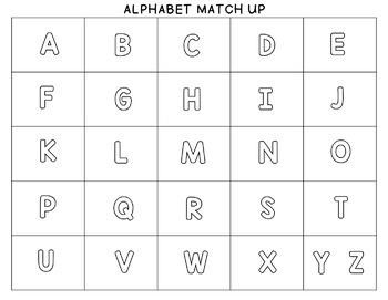Target Alphabet Eraser Match Up