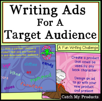 Writing Activities - Target Audience Promethean Board