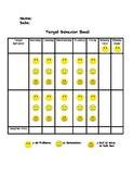 Target Behavior Sheet: Data Collection