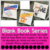 Target Blank Book Template GROWING BUNDLE