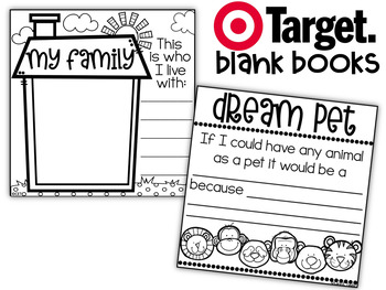 Target Blank Books All About Me