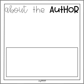 Target Books Template for any type of writing (digital and hard copy)