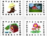 Target CLIPS alphabet CLIP IT mat letters match lower case upper case