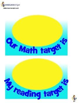 Target Cards - Encouraging Printables