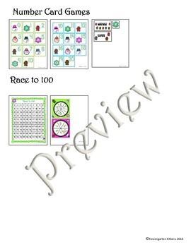 Target Winter and Christmas Eraser Math Activities