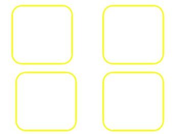 Target Dollar Spot Square Labels editble