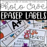 Target Eraser Storage Labels