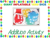 Target Giant Inflatable Yard Dice Addition Activity