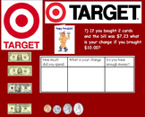 Real World Math (ACTIVE BOARD) - Target Gift Card CBI; Life Skills