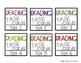 Target Adhesive Label Inserts- FREEBIE- LANGUAGE ARTS TASK CARD EDITION