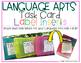 Target Label Inserts- FREEBIE- LANGUAGE ARTS TASK CARD EDITION