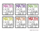 Target Label Inserts- FREEBIE- MATH TASK CARD EDITION