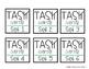 Target Label Inserts- FREEBIE- TASK CARD EDITION