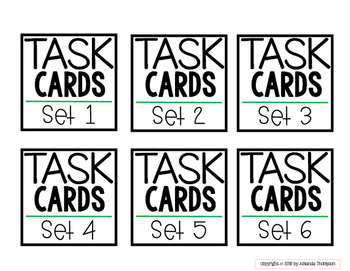 Target Adhesive Label Inserts- FREEBIE- TASK CARD EDITION- Early Education Font