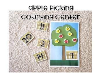 Target Mini Eraser Centers *Chicka Chicka* *Apple Picking*