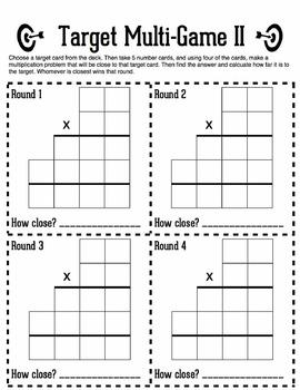 Multi-Digit Multiplication Estimation & Practice Game