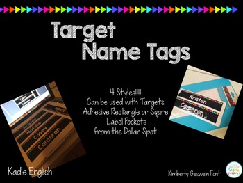 Target Name Tags and Labels