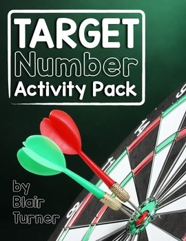 Target Number Activity Pack