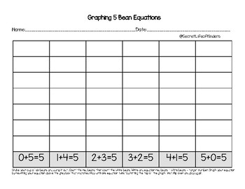 Target Number Graphing Beans