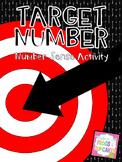 Target Number: Number Sense Activity