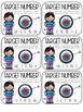 Target Number Task Cards