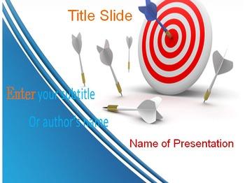 target ppt template by templates vision teachers pay teachers