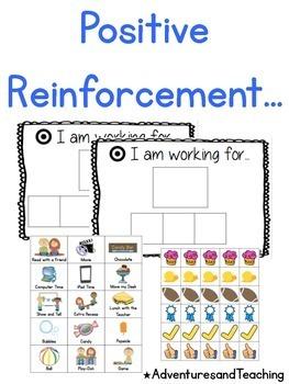 Target Centered Positive Reinforcement Behavior Chart & Bundle