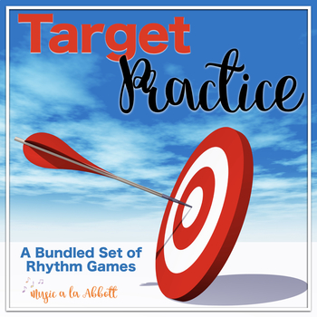 Target Practice!  A Rhythm Game to Practice Decoding {BUNDLED SET}