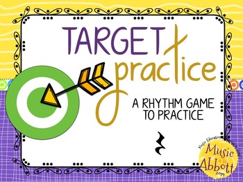Target Practice!  A Rhythm Game to Practice Decoding {rest}