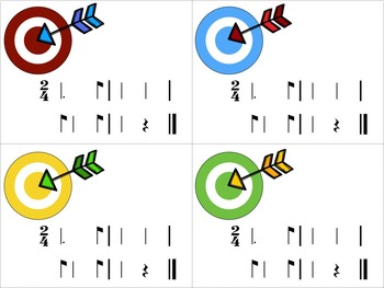 Target Practice!  A Rhythm Game to Practice Decoding {tam-ti/tom-ti}