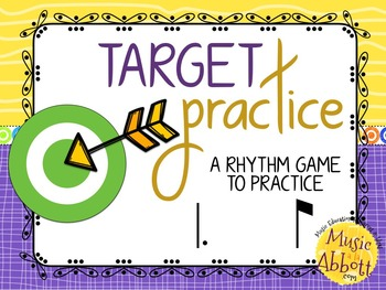 Target Practice!  A Rhythm Game to Practice Decoding {tam-