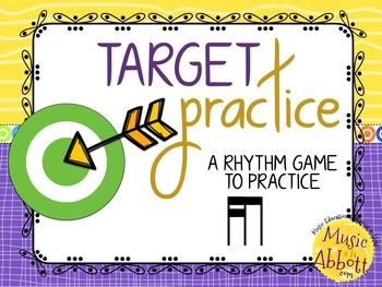 Target Practice!  A Rhythm Game to Practice Decoding {tika-ti/tiri-ti}