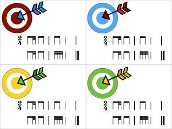 Target Practice!  A Rhythm Game to Practice Decoding {ti-tika/ti-tiri}