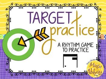 Target Practice!  A Rhythm Game to Practice Decoding {tim-ka\tim-ri}