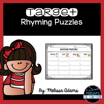 Target Rhyming Puzzles