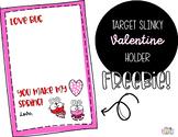 Target Slinky Valentine Holder