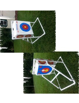 Target Stand for Bow and Arrow