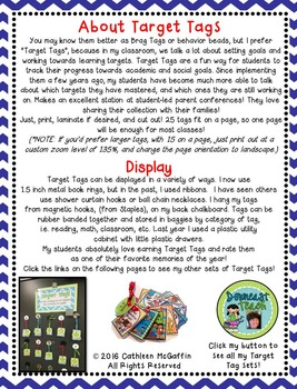 """Target Tag Brag Tags FREEBIE: """"It's Going to Be a SUPER Year!"""