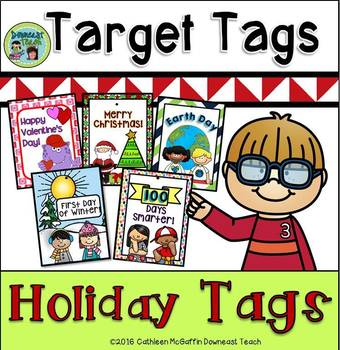 Target Tag Brag Tags: Holiday Tags