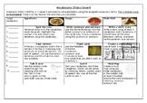 Target Vocabulary Choice Board
