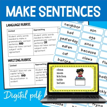 Target Words; Speaking and Writing Sentences #taxespaid17