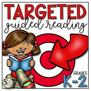Targeted Guided Reading Plan and Activities Resources K-2 by 1st Grade Pandamania