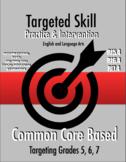 Targeted Skill Practice & Intervention: RI5.4, RI6.4, & RI7.4 - Examine Language