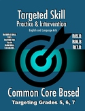 Targeted Skill Practice and Intervention: RI5.8, RI6.8, & RI7.8 (Argument/Claim)