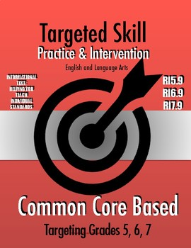 Targeted Skill Practice and Intervention: RI5.9, 6.9, 7.9 (Compare/Contrast)