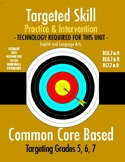 Targeted Skill Practice & Intervention: RL.7 & RL.9 (Compare & Contrast)