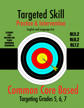 Targeted Skill Practice and Intervention: RL5.2, RL6.2, RL7.2 (Central Idea)