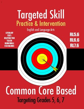 Targeted Skill Practice and Intervention: RL5.6, 6.6, 7.6 - POINT OF VIEW