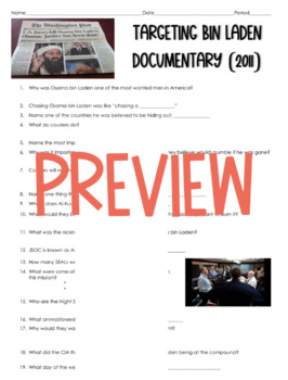 Targeting Osama bin Laden History Channel Documentary (War on Terror)