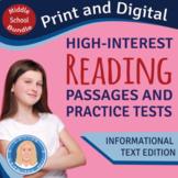 Targeting Standards All Year Long - 32 ELA Practice Tests